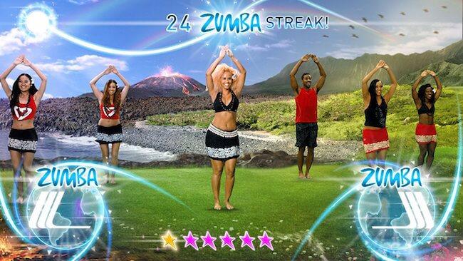 Zumba Fitness videogame