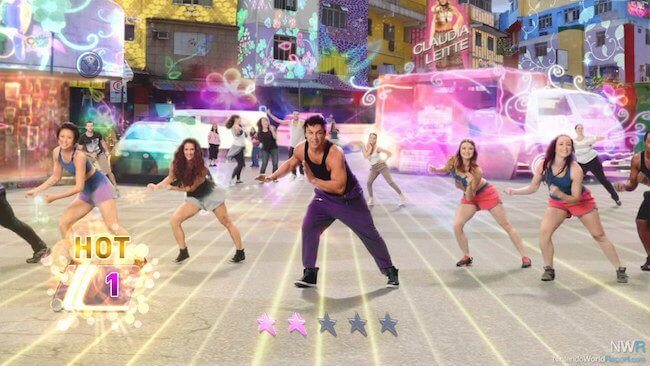 Zumba World Party Gameplay Screenshot
