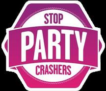 Il logo del programma Stop Party Crashers di Zumba