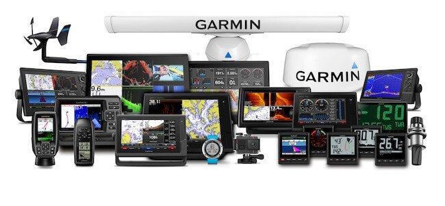 La linea completa dei dispositivi Garmin Marine