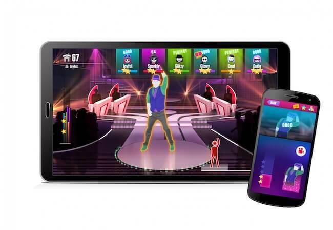 Just Dance Now giocato con lo smartphone ed un tablet