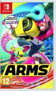 Confezione del videogioco ARMS per Nintendo Switch