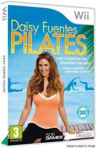 Confezione del videogioco Daisy Fuentes Pilates per Nintendo Wii