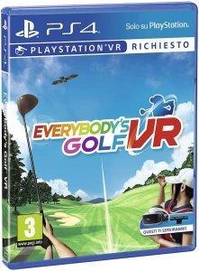 Confezione del videogioco Everybody's Golf VR per PS4