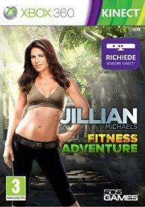 Confezione del videogioco Jillian Michaels Adventure per Xbox 360