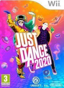 Confezione del videogioco Just Dance 2020 per Nintendo Wii