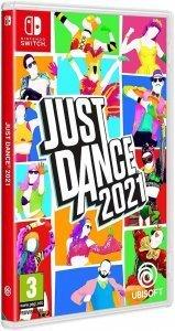 Confezione del videogioco Just Dance 2021 per Nintendo Switch