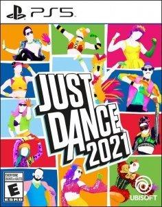 Confezione del videogioco Just Dance 2021 per PS5