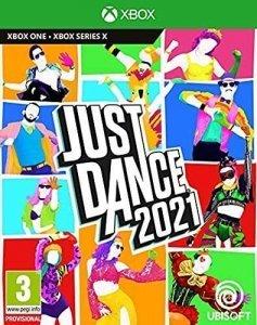 Confezione del videogioco Just Dance 2021 per Xbox One