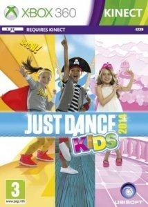 Confezione del videogioco Just Dance Kids 2014 per Xbox 360