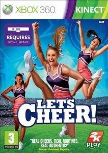 Confezione del videogioco Let's Cheer per Xbox 360