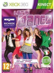 Confezione del videogioco Let's Dance with Mel B per Xbox 360