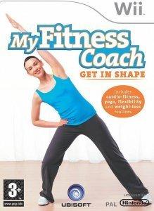 Confezione del videogioco My Fitness Coach - Get in Shape per Nintendo Wii