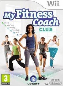 Confezione del videogioco My Fitness Coach Club per Nintendo Wii