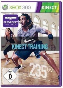 Confezione del videogioco Nike Plus Kinect Training per Xbox 360