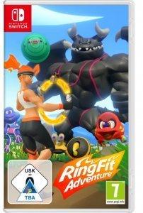 Confezione del videogioco Nintendo Ring Fit Adventures per Nintendo Switch