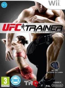 Confezione del videogioco UFC Personal Trainer per Nintendo Wii
