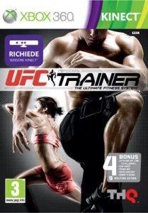 Confezione del videogioco UFC Personal Trainer per Xbox 360