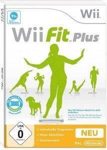 Confezione del videogioco Wii Fit Plus per Nintendo Wii