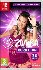 Confezione del videogioco Zumba Burn It Up! per Nintendo Switch