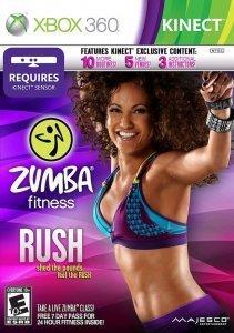 Confezione del videogioco Zumba Fitness Rush per Xbox 360