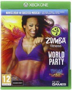Confezione del videogioco Zumba World Party per Xbox One