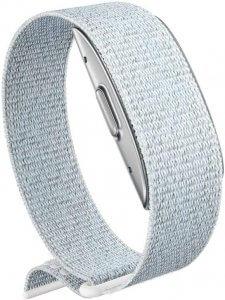 Braccialetto Amazon Halo Band con cinturino di colore argento